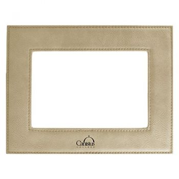 Canisus College-Velour Picture Frame 4x6-Tan