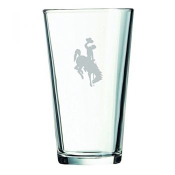 University of Wyoming -16 oz. Pint Glass