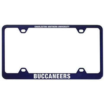 Charleston Southern University -Metal License Plate Frame-Blue
