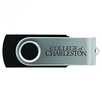 College of Charleston-8GB 2.0 USB Flash Drive-Black