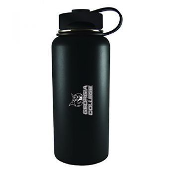 Georgia College-32 oz. Travel Tumbler-Black