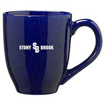 Stony Brook University - 16-ounce Ceramic Coffee Mug - Blue