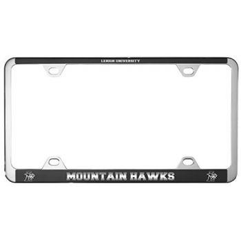 Lehigh University-Metal License Plate Frame-Black
