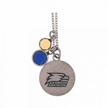 Georgia Southern University-Frankie Tyler by LXG Charmed Necklace
