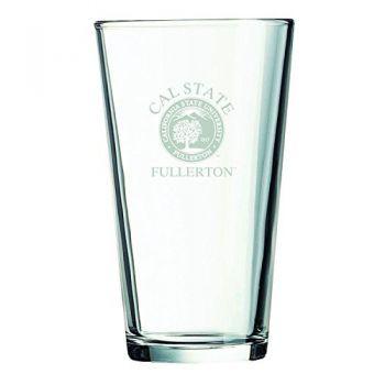 California State University Fullerton -16 oz. Pint Glass
