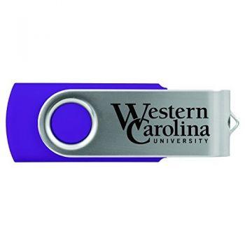 Western Carolina University -8GB 2.0 USB Flash Drive-Purple