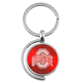 Ohio State University - Spinner Key Tag - Red