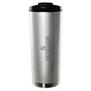 Southeastern Louisiana University-16oz. Stainless Steel Vacuum Insulated Travel Mug Tumbler-Silver