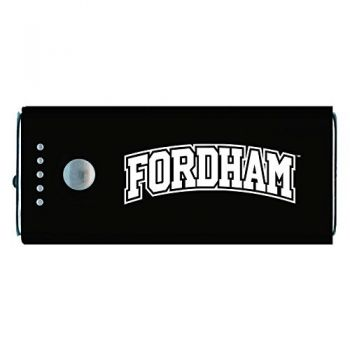Fordham University-Portable Cell Phone 5200 mAh Power Bank Charger -Black