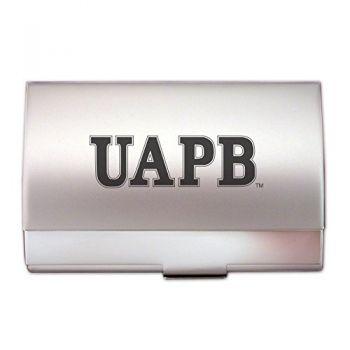 University of Arkansas - Pine Bluff - Pocket Business Card Holder