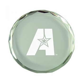 Louisiana State University of Alexandria-Crystal Paper Weight
