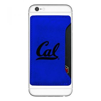 University of California Berkeley-Cell Phone Card Holder-Blue