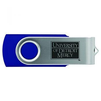 University of Detroit Mercy-8GB 2.0 USB Flash Drive-Blue