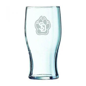 University of South Dakota-Irish Pub Glass