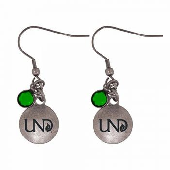University of North Dakota-Frankie Tyler Charmed Earrings