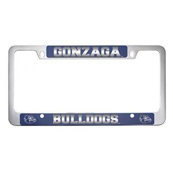 Gonzaga University -Metal License Plate Frame-Blue