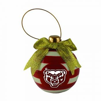 Oakland University -Christmas Bulb Ornament