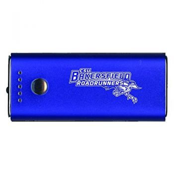 California State University, Bakersfield-Portable Cell Phone 5200 mAh Power Bank Charger -Blue