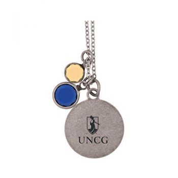 University of North Carolina at Greensboro-Frankie Tyler by LXG Charmed Necklace