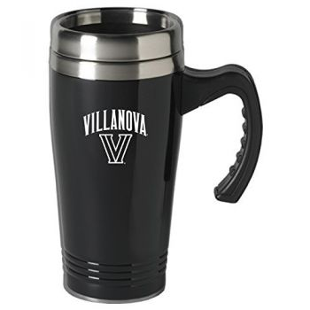Villanova University-16 oz. Stainless Steel Mug-Black
