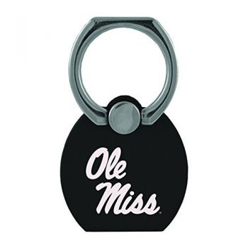 University of Mississippi|Multi-Functional Phone Stand Tech Ring|Black