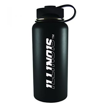 University of Illinois -32 oz. Travel Tumbler-Black