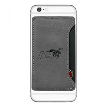 Alabama State University-Cell Phone Card Holder-Grey