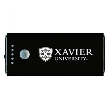 Xavier University-Portable Cell Phone 5200 mAh Power Bank Charger -Black