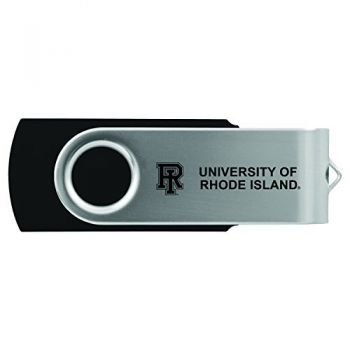 The University of Rhode Island -8GB 2.0 USB Flash Drive-Black