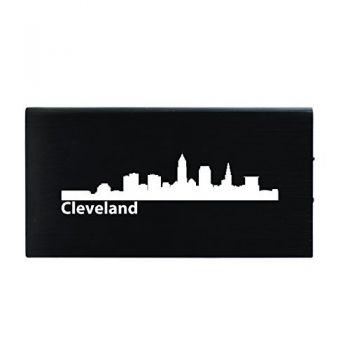 Quick Charge Portable Power Bank 8000 mAh - Cleveland City Skyline