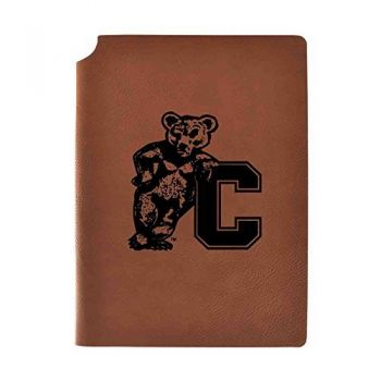 Cornell University Velour Journal with Pen Holder|Carbon Etched|Officially Licensed Collegiate Journal|
