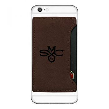 Saint Mary's College of California-Cell Phone Card Holder-Brown