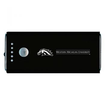 Western Michigan University-Portable Cell Phone 5200 mAh Power Bank Charger -Black