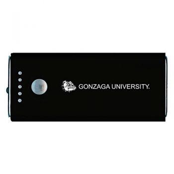 Gonzaga University -Portable Cell Phone 5200 mAh Power Bank Charger -Black