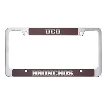College of Charleston-Metal License Plate Frame-Burgundy