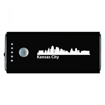 Kansas City, Kansas-Portable Cell Phone 5200 mAh Power Bank Charger-Black