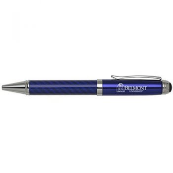 Belmont University-Carbon Fiber Mechanical Pencil-Blue