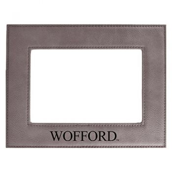 Wofford College-Velour Picture Frame 4x6-Grey