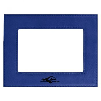 Longwood University-Velour Picture Frame 4x6-Blue