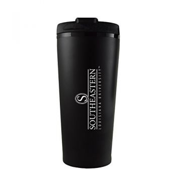 Southeastern Louisiana University -16 oz. Travel Mug Tumbler-Black