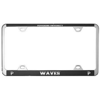 Pepperdine university -Metal License Plate Frame-Black