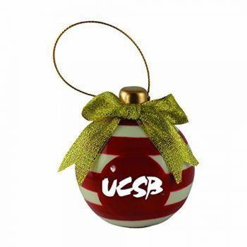 University of California, Santa Barbara-Christmas Bulb Ornament