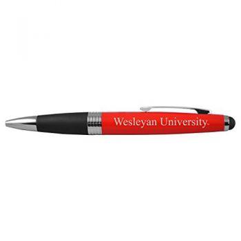 Wesleyan University -Bullet Ballpoint Pen-Red