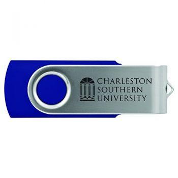 Charleston Southern University -8GB 2.0 USB Flash Drive-Blue