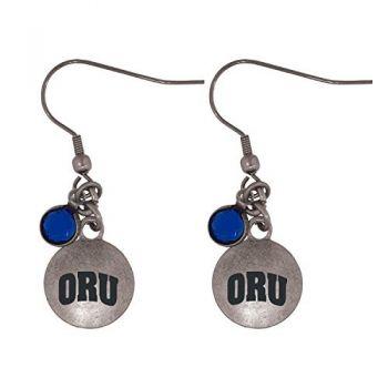 Oral Roberts University-Frankie Tyler Charmed Earrings