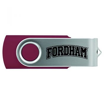 Fordham University-8GB 2.0 USB Flash Drive-Burgundy