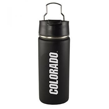 University of Colorado -20 oz. Travel Tumbler-Black