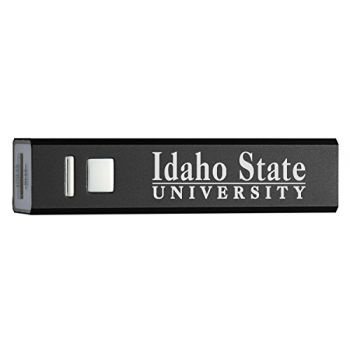 Idaho State University - Portable Cell Phone 2600 mAh Power Bank Charger - Black