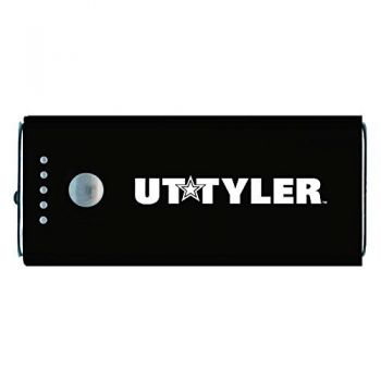 University of Texas at Tyler-Portable Cell Phone 5200 mAh Power Bank Charger -Black