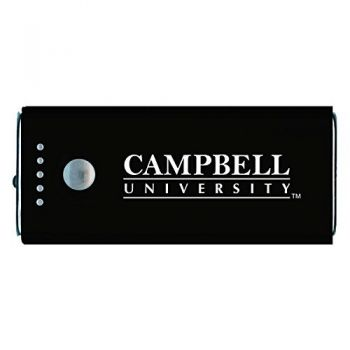 Campbell University -Portable Cell Phone 5200 mAh Power Bank Charger -Black